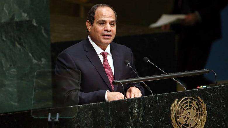 """السيسي يطرح """"مبادرة الأمل والعمل"""" أمام الأمم المتحدة ويؤكد: نواجه جميعاً مسلمين وغير مسلمين نفس العدو"""