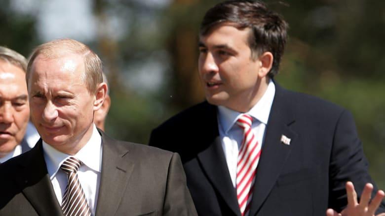 سكاشفيلي لـCNN عن بوتين وذكرى الاجتياح الروسي لجورجيا: بوتين يدعم لدفن الديمقراطية بأوكرانيا