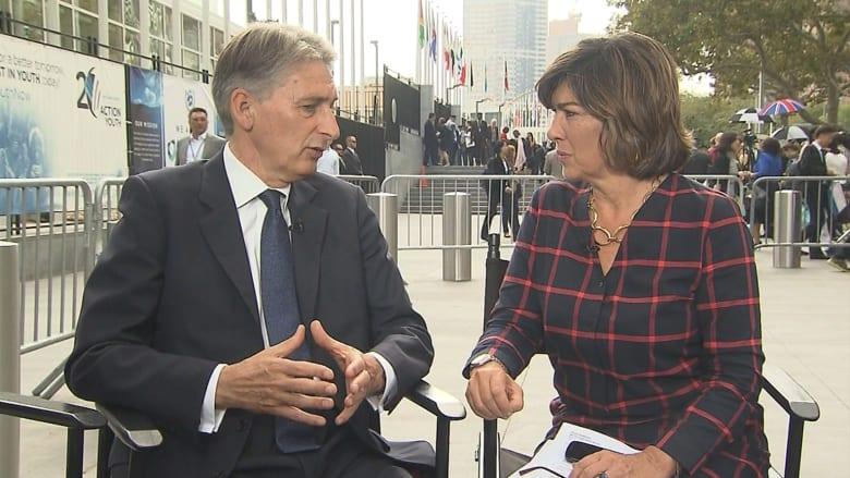 وزير الخارجية البريطاني: التدخل الروسي في سوريا خلق تفاعلا جديدا.. ويجب على الأسد أن يرحل