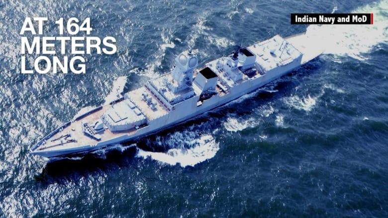 الهند تبني أحدث سفنها الحربية