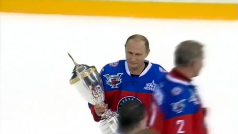بوتين يحتفل في عيد ميلاده بـ 7 أهداف في مباراة هوكي.. وبـ 112 هدفا في سوريا