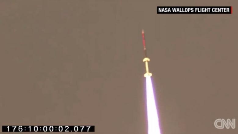 شاهدوا قريباً.. صاروخ ناسا الملوّن