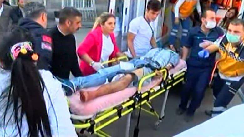 بالفيديو.. انفجار قرب محطة القطارات بأنقرة.. وارتفاع عدد القتلى لـ86 والجرحى 186