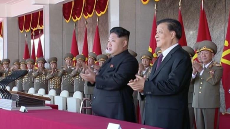 بالفيديو.. كوريا الشمالية تستعرض قواتها رداً على تهديد أمريكي محتمل