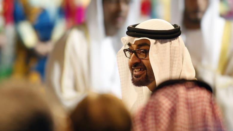 ولي عهد أبوظبي الشيخ محمد بن زايد آل نهيان يصل لافتتاح القمة العالمية لطاقة المستقبل في يناير 2014
