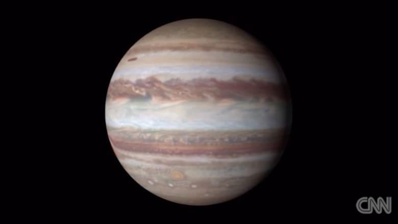 بالفيديو.. ناسا تنشر صورا جديدة للمشتري