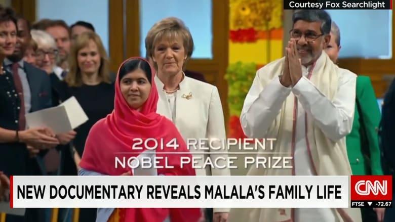 """شاهد.. فيلم """"أسماني مالالا""""، من أي عائلة خرجت هذه الفتاة القوية"""