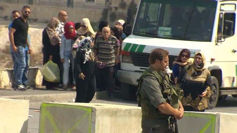 بالفيديو.. CNN على نقاط تفتيش تزيد معاناة الفلسطينيين في القدس