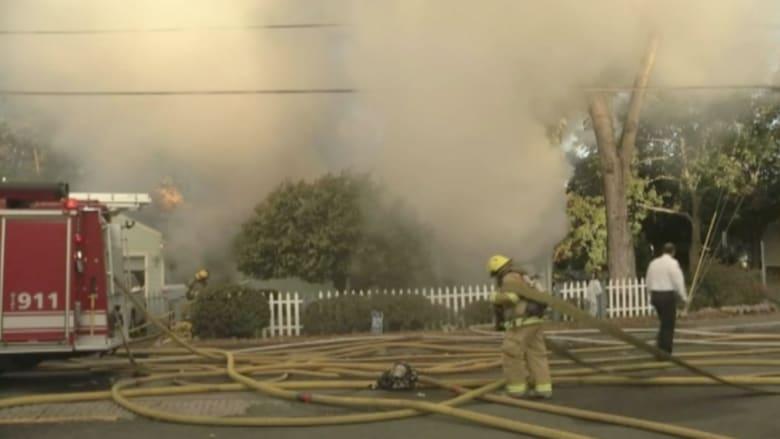 بالفيديو.. وفاة أم وابنها بحريق منزل في مدينة تشيكوبي بأمريكا