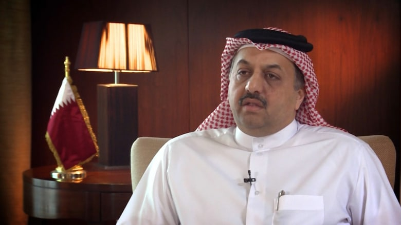 """العطية يرد حصريا لـCNN على التدخل الروسي بسوريا ودعم قطر لـ""""أحرار الشام"""" وتأييد تصريحات السعودية بعدم استبعاد الخيار العسكري"""