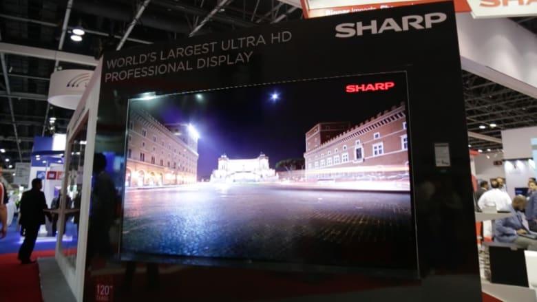 """بالفيديو.. هل تعتقدون بأن شاشات التلفزة بدقة وضوح """"4k"""" هي الأحدث؟ إليكم شاشات بدقة وضوح """"8k""""!"""
