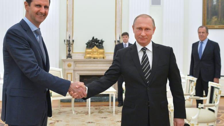 """بوتين: الأسد منفتح على دعم جماعة معارضة مسلحة لمواجهة """"داعش"""".. وشعبية الرئيس الروسي تصل """"أعلى نسبة له في التاريخ"""""""