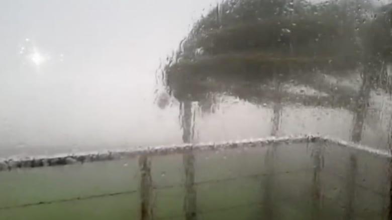 """بالفيديو.. المكسيك تواجه """"أخطر عاصفة في التاريخ"""""""