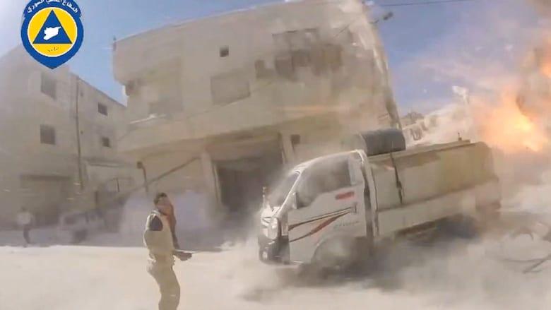 بالفيديو.. جمعية طبية تتهم روسيا بقصف مستشفى في إدلب.. وموسكو: لا نستهدف المدنيين في سوريا
