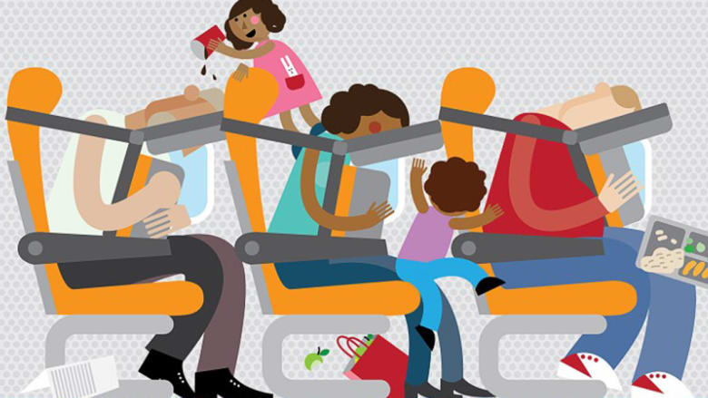 هل يمكن تصميم مقاعد الطائرات بهذا الشكل في المستقبل؟