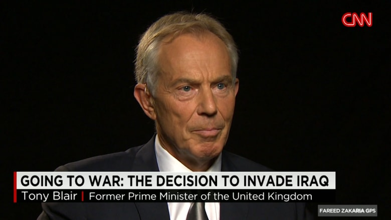 بلير لـCNN جربنا كل الطرق بالعراق وليبيا وسوريا.. والخطط البديلة ليست أفضل
