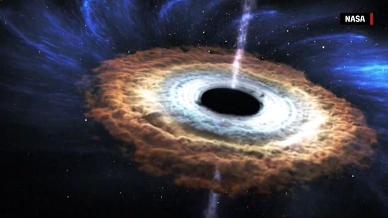 شاهد كيف تدمر الثقوب السوداء النجوم
