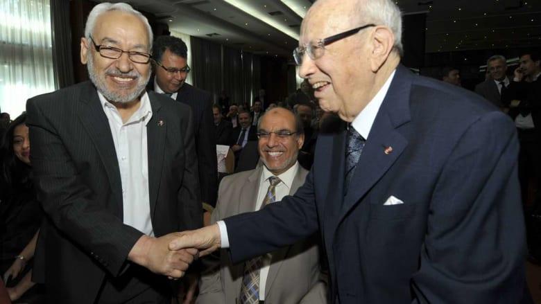 مجموعة الأزمات الدولية تمنح الغنوشي والسبسي جائزة السلام لعام 2015