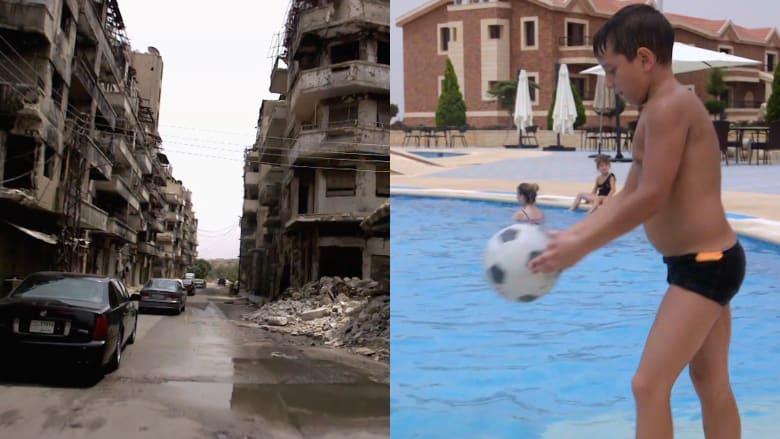 حمص بين خطوط النار والمنتجعات السياحية