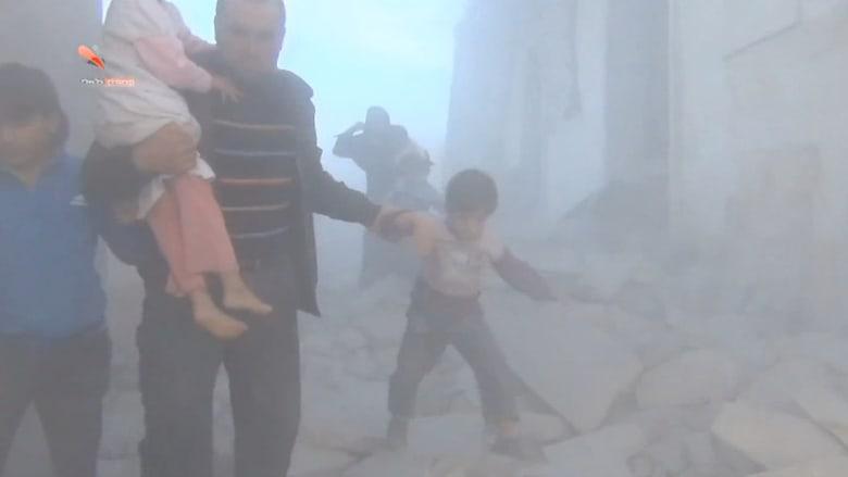 نظام الأسد يشن هجوما دمويا على سوق في دوما.. هل تسمع فيينا صيحات السوريين؟