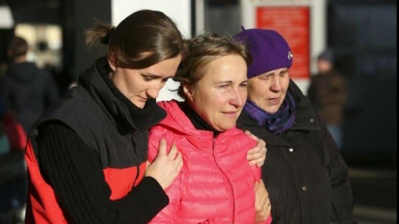 بالفيديو.. ردة فعل ذوي ضحايا تحطم الطائرة الروسية بسيناء.. وبوتين يعلن الحداد الرسمي الأحد
