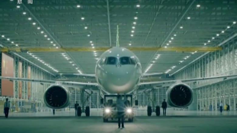 الصين تكشف عن C919 .. أول طائرة سياحية من صناعتها وتحليقها الأول العام المقبل
