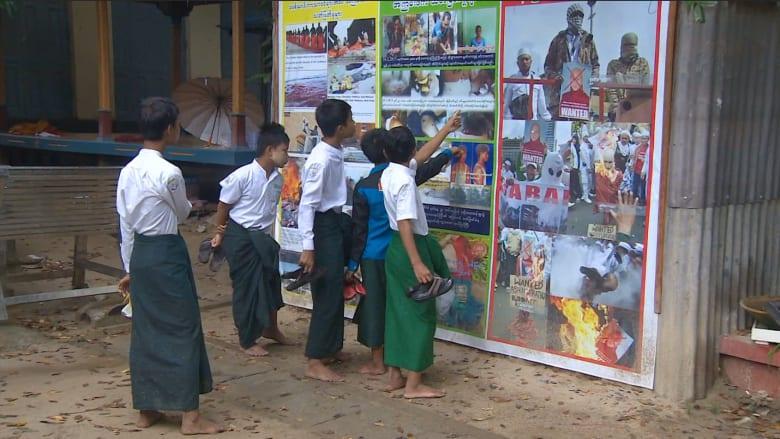 عدسة CNN تدخل مناطق ميانمار الساخنة.. من يشعل نار الصراع بوجه المسلمين في البلاد؟