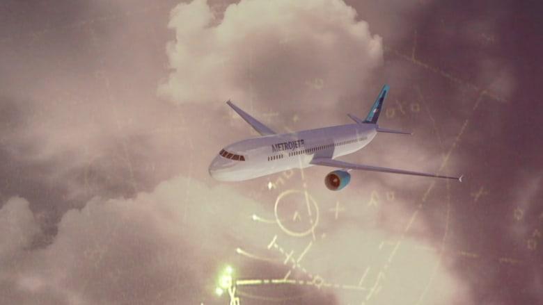 """بالفيديو.. اللحظات الأخيرة قبل سقوط الطائرة الروسية.. هل يساعد """"الوميض الحراري"""" في حل اللغز؟"""
