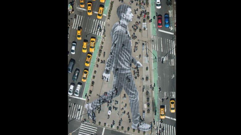 هل يمكن للفن أن يغير العالم؟ هذا الفنان المجهول يعتقد ذلك...