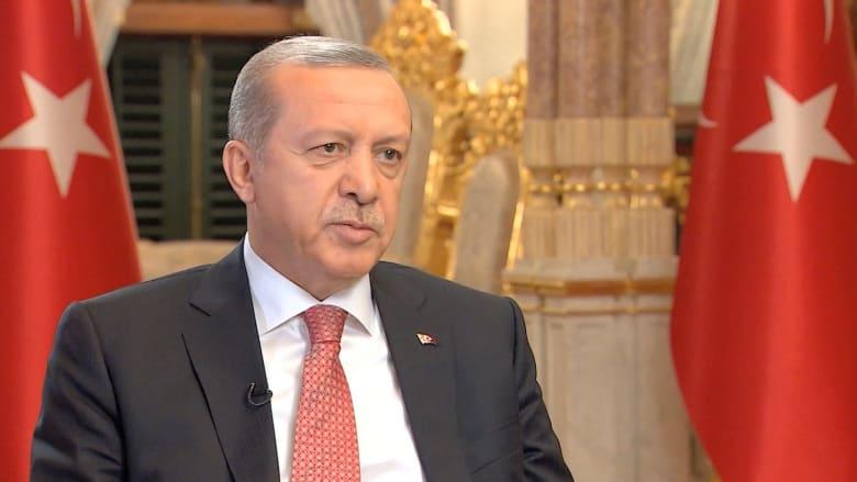 أردوغان لـCNN: روسيا تقصف المعارضة السورية المعتدلة.. ولم أحصل على ما أتوقعه من بوتين