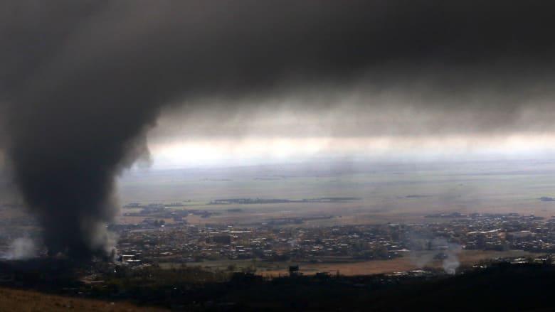 سماء سنجار تتلون بالأسود.. ومجلس إقليم كردستان: البشمرغة تدخل البلدة من كل الاتجاهات
