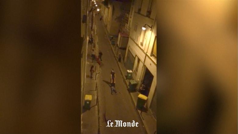 """شاهد.. فيديو جديد لهجوم """"باتاكلان"""" بفرنسا"""