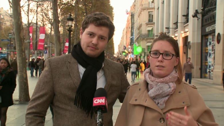 فرنسيون بعد هجمات باريس: يجب أن نستمر في الحياة ونكون أقوياء.. والشر لا ينتصر أبدا