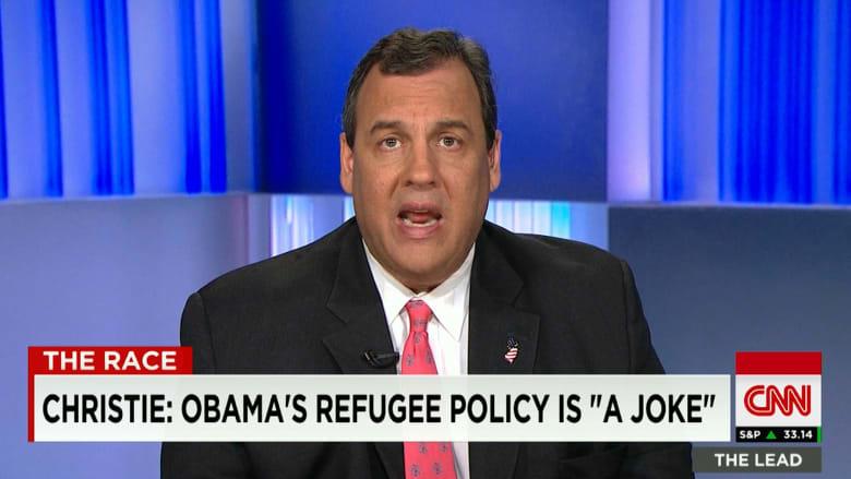 كريس كريستي: أوباما هو الذي تسبب في أزمة اللاجئين السوريين
