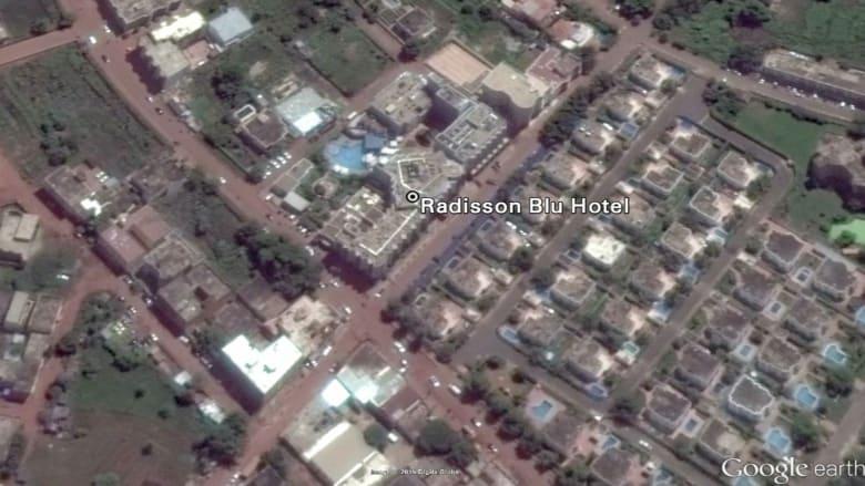 بالخرائط.. شاهد الموقع الذي يحتجز فيه الرهائن بمالي
