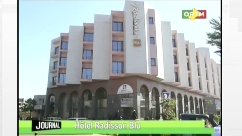 بالفيديو.. المشاهد الأولية لعملية احتجاز الرهائن بفندق في مالي