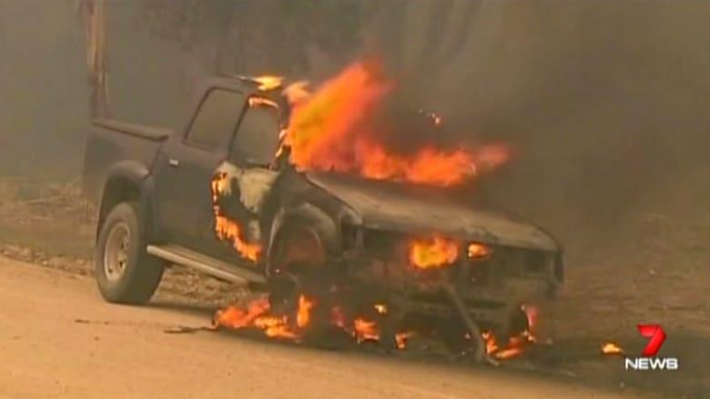 بالفيديو.. مقتل شخصين وعشرات المصابين في حرائق الغابات جنوب أستراليا
