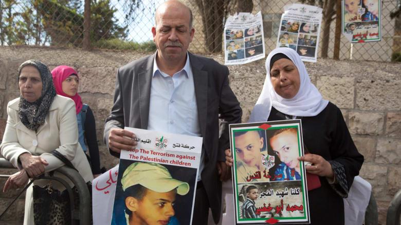 إدانة مراهقين إسرائيليين بقتل الفلسطيني أبوخضير حرقاً وإحالة متهم ثالث لطبيب نفسي