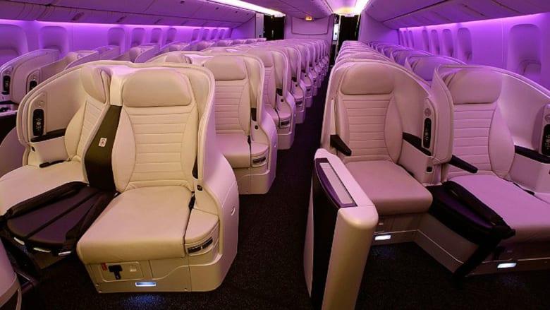 بالصور.. شاهد فخامة الدرجة السياحية في أفضل خطوط طيران لهذا العام