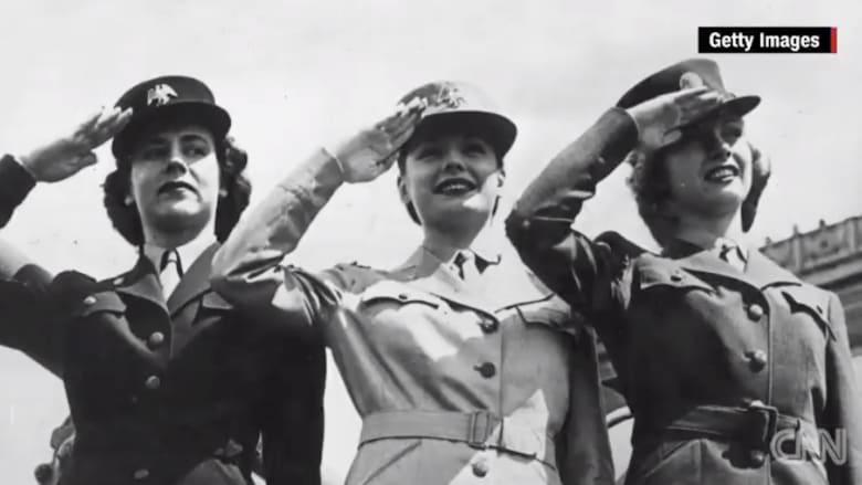 تاريخ نساء القوات المسلحة الامريكية