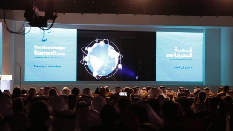 """بالفيديو: دبي تجمع العرب والعالم في قمة المعرفة.. وقلق حول أطفال """"جيل الحروب"""" الضائع وردم هوة سوق العمل"""