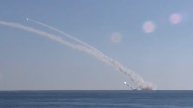 شاهد بالفيديو: غواصات روسية تُطلق لأول مرة صواريخ كاليبر من تحت الماء ضد داعش بسوريا