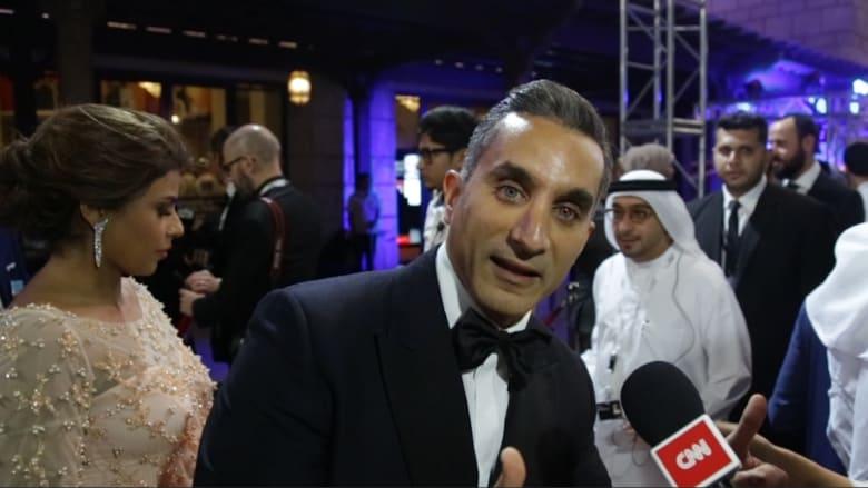 """كاميرا CNN تغافل المشاهير على """"السجادة الحمراء"""" لمهرجان """"دبي السينمائي"""""""