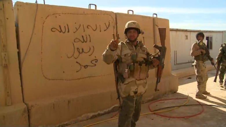 شاهد بالفيديو: كاميرا CNN تتجول مع الجيش العراقي في منطقة محررة من داعش بالرمادي