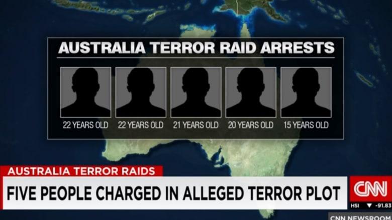 صبي عمره 15 عاماً ضمن مجموعة خططت لمؤامرة إرهابية في أستراليا