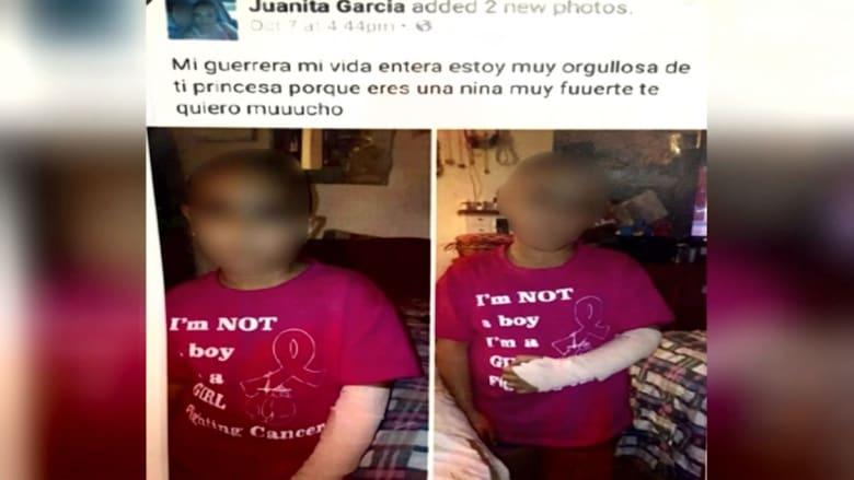 أم تتظاهر بإصابة طفلتها ذات الـ 7 أعوام بالسرطان.. وتحلق شعر رأسها كلياً للحصول على تبرعات