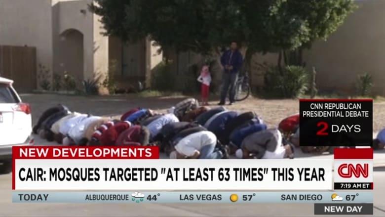 """بالفيديو.. الإسلاموفوبيا تتصاعد في أمريكا.. و""""كير"""": 2015 يسجل أكبر عدد من الاعتداءات منذ هجمات 11 سبتمبر"""