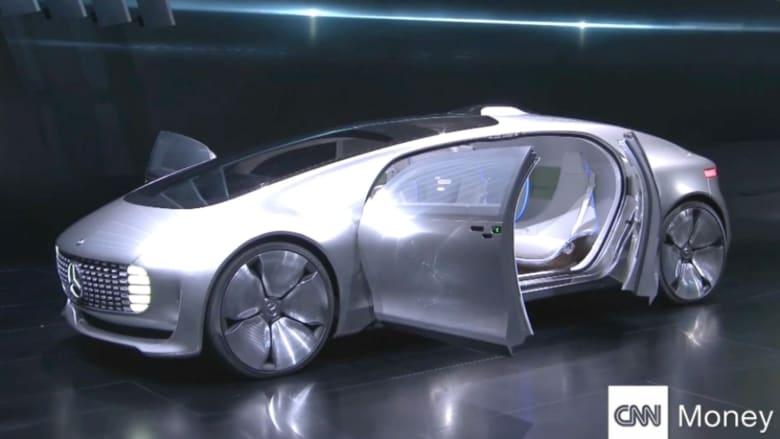 بالفيديو.. شاهد السيارة الأعجوبة من مرسيدس
