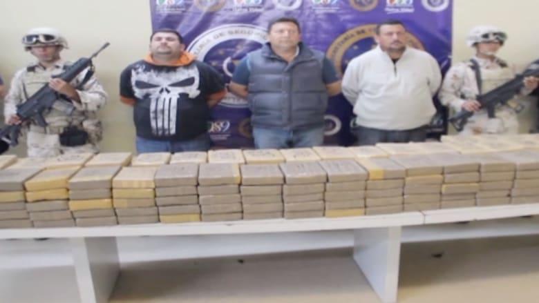 بالفيديو.. ضبط 265 كيلوغراماً من الكوكايين قبل توزيعها في السوق بالمكسيك