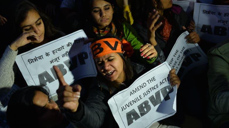 الهند.. الإفراج عن أحد المدانين بالاشتراك في اغتصاب امرأة في حافلة عامة بنيودلهي